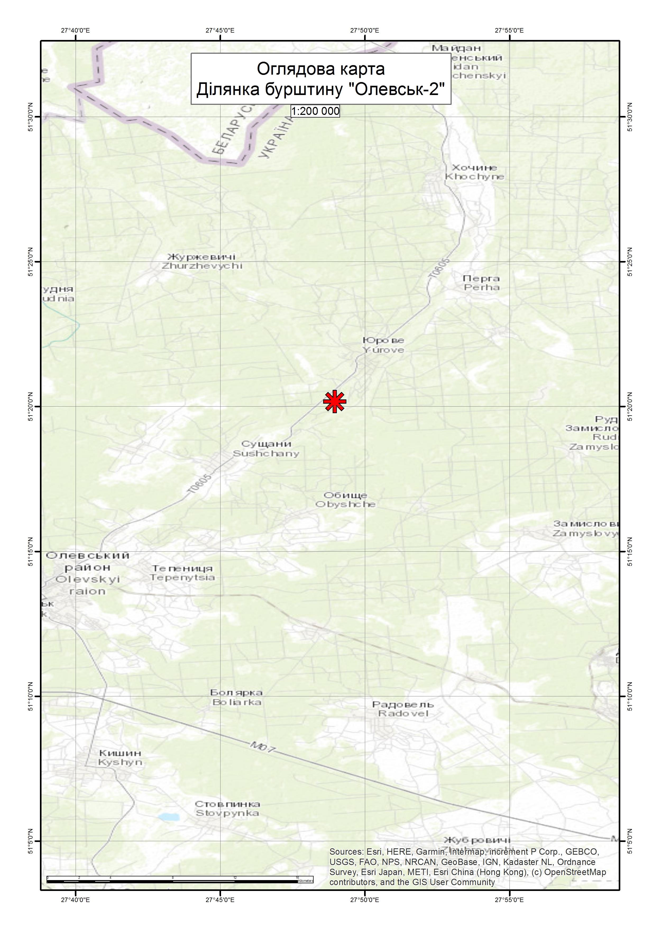 Спеціальний дозвіл на користування надрами – Ділянка «Олевськ-2». Вартість геологічної інформації – 91 477,08 грн (з ПДВ). Вартість пакету аукціонної документації – 9 992, 74 грн (з ПДВ).