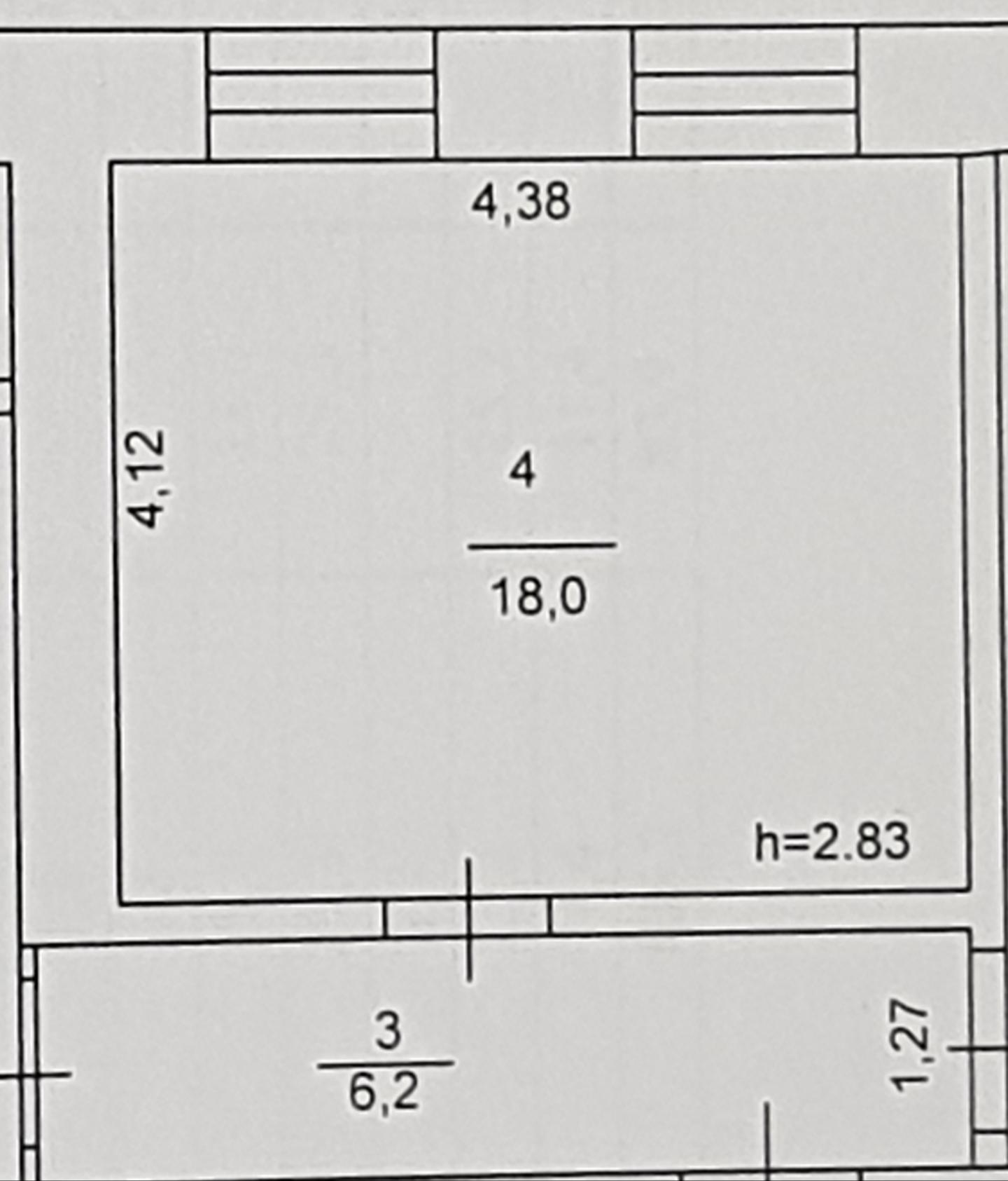 Аукціон на продовження договору оренди нежитлового приміщення, площею 21,4 кв.м. за  адресою: м.Світловодськ, вул. Михайла Грушевського,18
