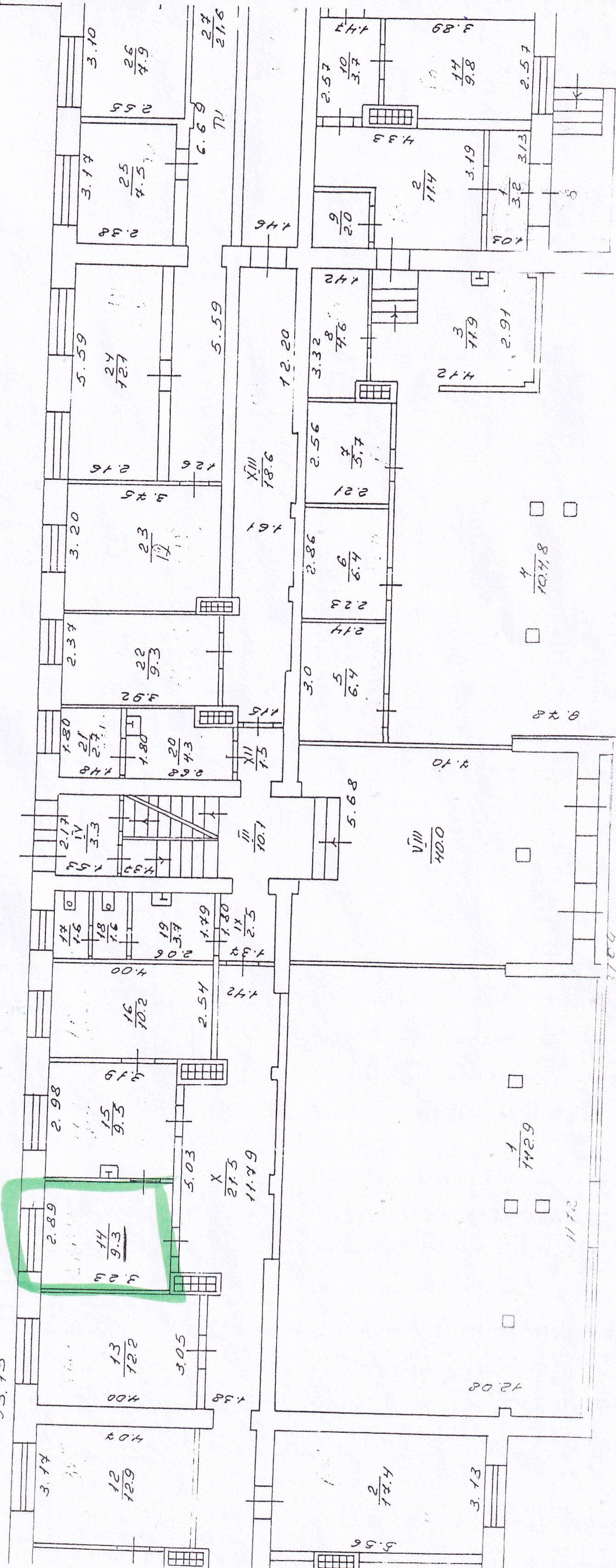 Продовження договору оренди нерухомого майна, а саме: нежитлового вбудованого приміщення, загальною площею 9,3 кв.м., розташованого на першому поверсі п'ятиповерхової будівлі гуртожитку за адресою: Сумська область, м.Конотоп, вул.Короленка, 37
